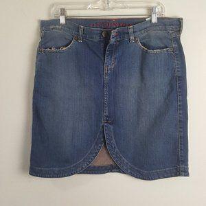 Tommy Hilfiger Junior Denim Skirt Sz13